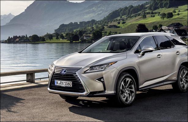 Lexus представит трехрядный внедорожник