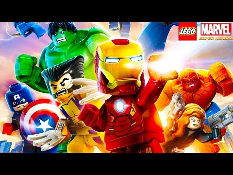 LEGO Marvel's Avengers All Cutscenes Movie - Age of