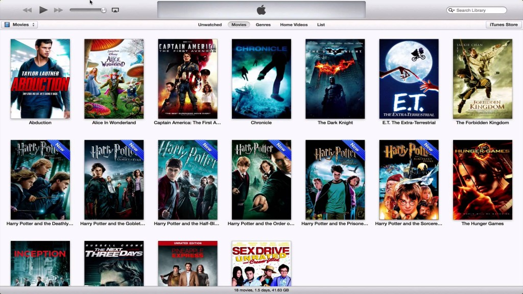 How to stream movies from your iTunes library on