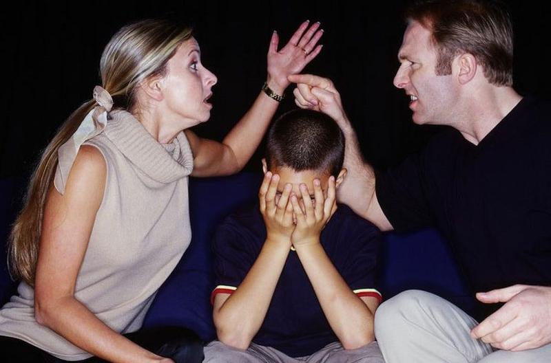Вечные скандалы в семье что делать