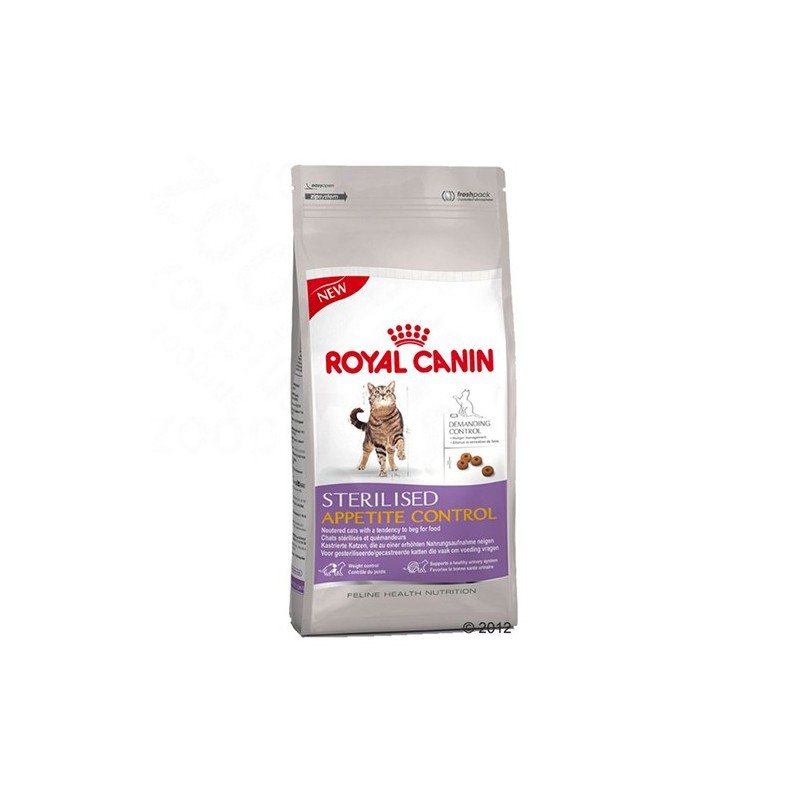 Sterilised appetite control корм royal canin