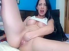Big tit creampie laura love