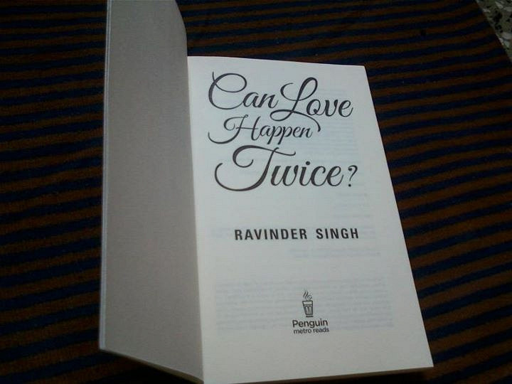 Can Love Happen Twice' Book Review - Boldskycom