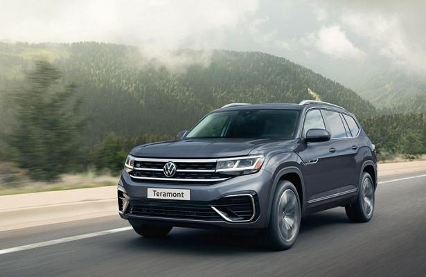 Volkswagen сообщил подробности обобновленном Teramont дляРоссии