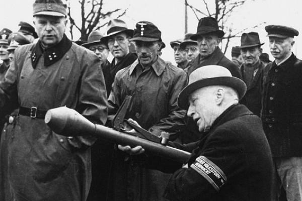 Почему ополченцы Гитлера воевали безоружия