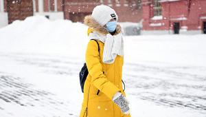 Москвичей предупредили одвадцатиградусном морозе