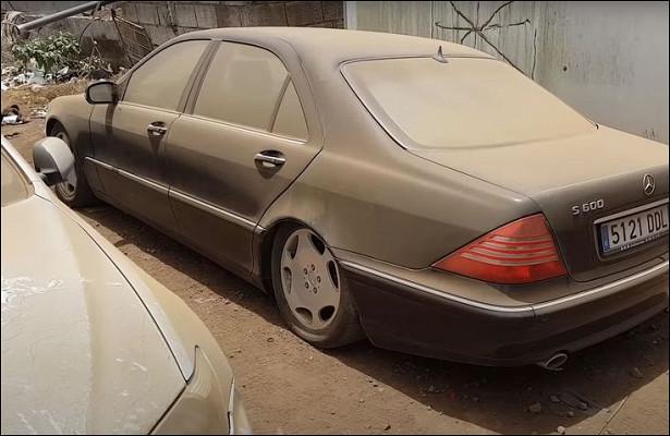 Посмотрите напопытки завести Mercedes-Benz S600, стоявший много летбездвижения