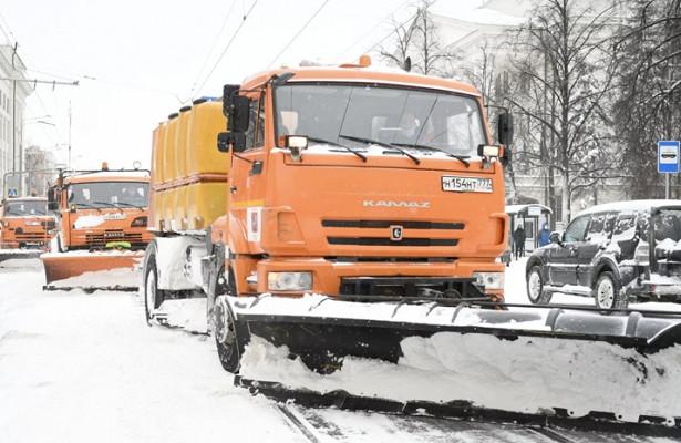 ВМоскве убрали 28млнкубических метров снега