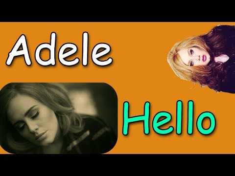 Download Adele Hello mp3 free - Free Music Download