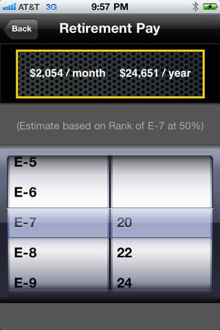 Tangerine retirement calculator payment you