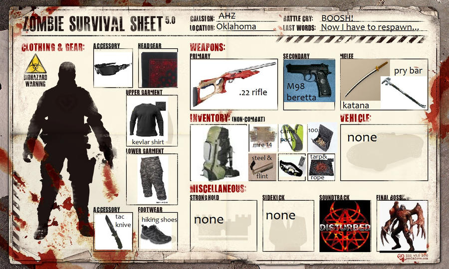 Zombie Survival Guide Ebook - 123jetztmeinde