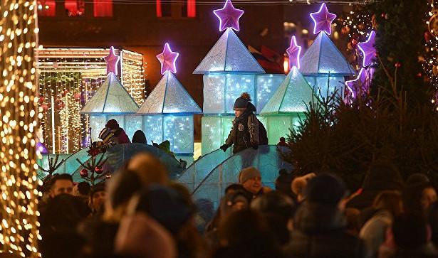 Гуляющих вМоскве предложили согревать кашей