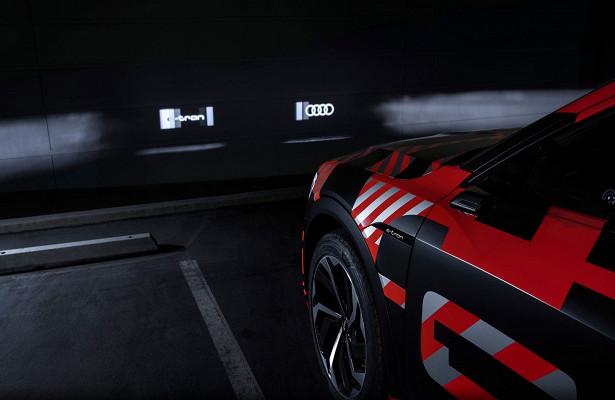 Audi оснастила свои электромобили фарами-проекторами