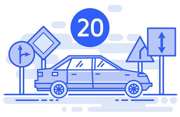 ПДД2018— раздел №20— Буксировка механических транспортных средств