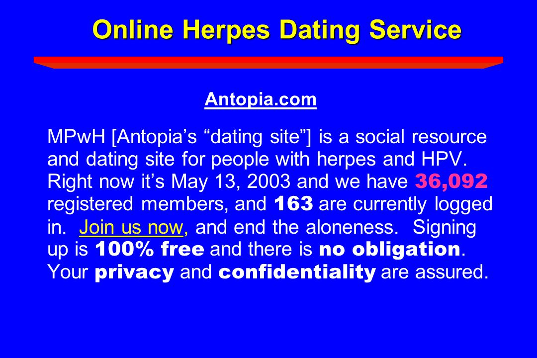 Herpes dating christian