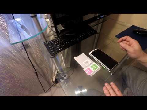 Как наклеить стекло на телефон с алиэкспресс видео