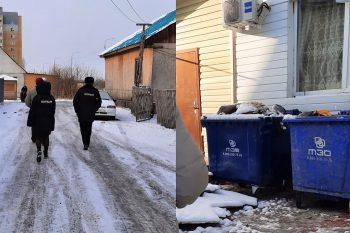 ВТюмени владельцы частных домов украли контейнеры длясбора ТКО