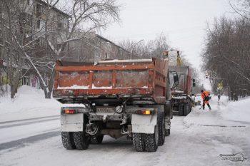 ВЧелябинске коммунальные службы заночь вывезли только 2216тонн снега