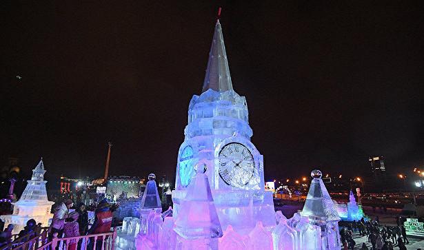 НаПоклонной горе появятся ледяные Эйфелева башня иБиг-Бен