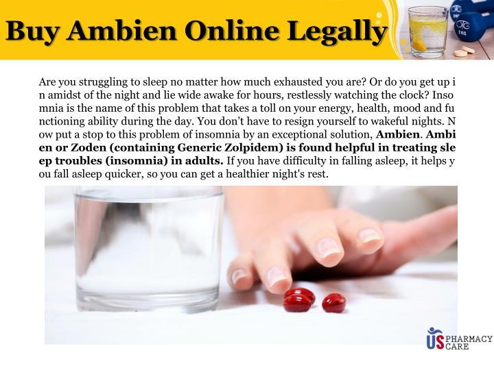 Buy zolpidem online legally