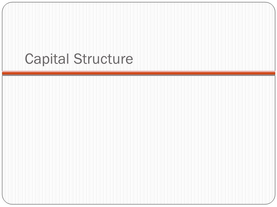 Write my phd thesis on capital structure