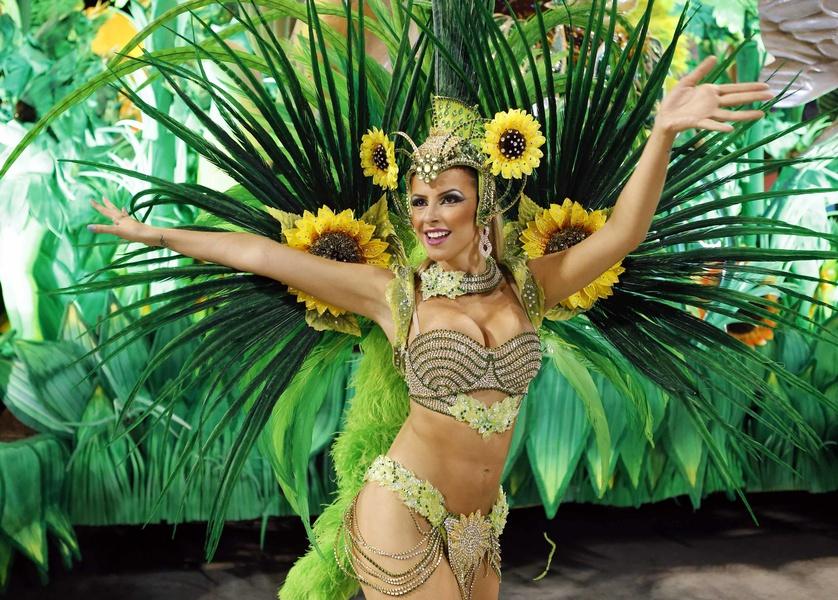 Frauen Brasilien - Brasilianerinnen an der Copacabana