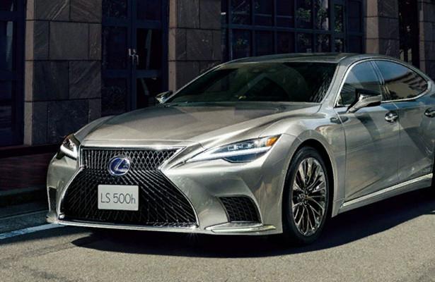 ВЯпонии запущены продажи рестайлингового Lexus LS