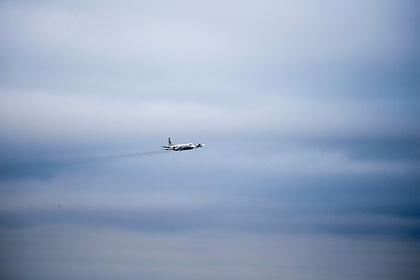 Истребитель Су-27отогнал самолеты СШАиГермании отграниц РФнаБалтике