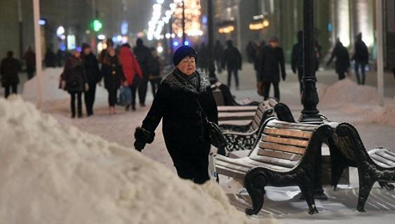 В Москве с начала октября выпало почти два метра снега