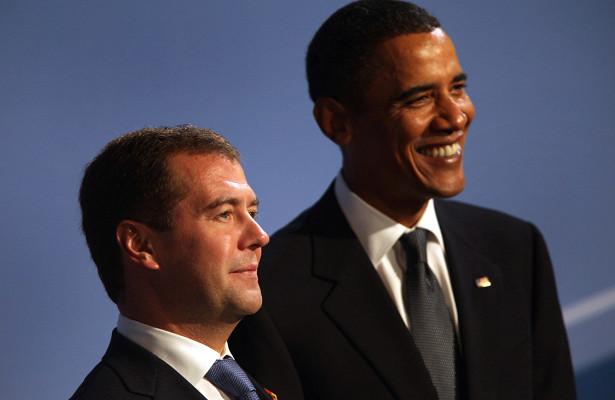 Обама рассказал освоем отношении кМедведеву