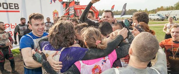 Молодежь Красногорска поучаствовала в«Гонке героев»
