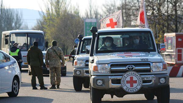 Киев непропустил гуманитарный груз вДонбасс, заявили вЛНР