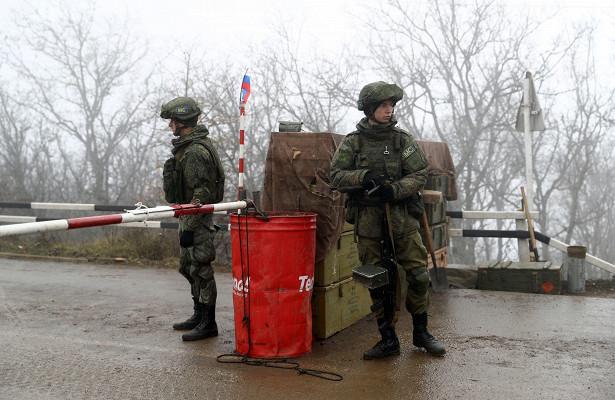 Российских пограничников награнице Армении иАзербайджана усилят резервом