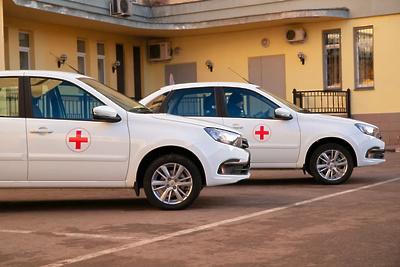 Автопарк ЦГКБ Реутова пополнился тремя медицинскими машинами