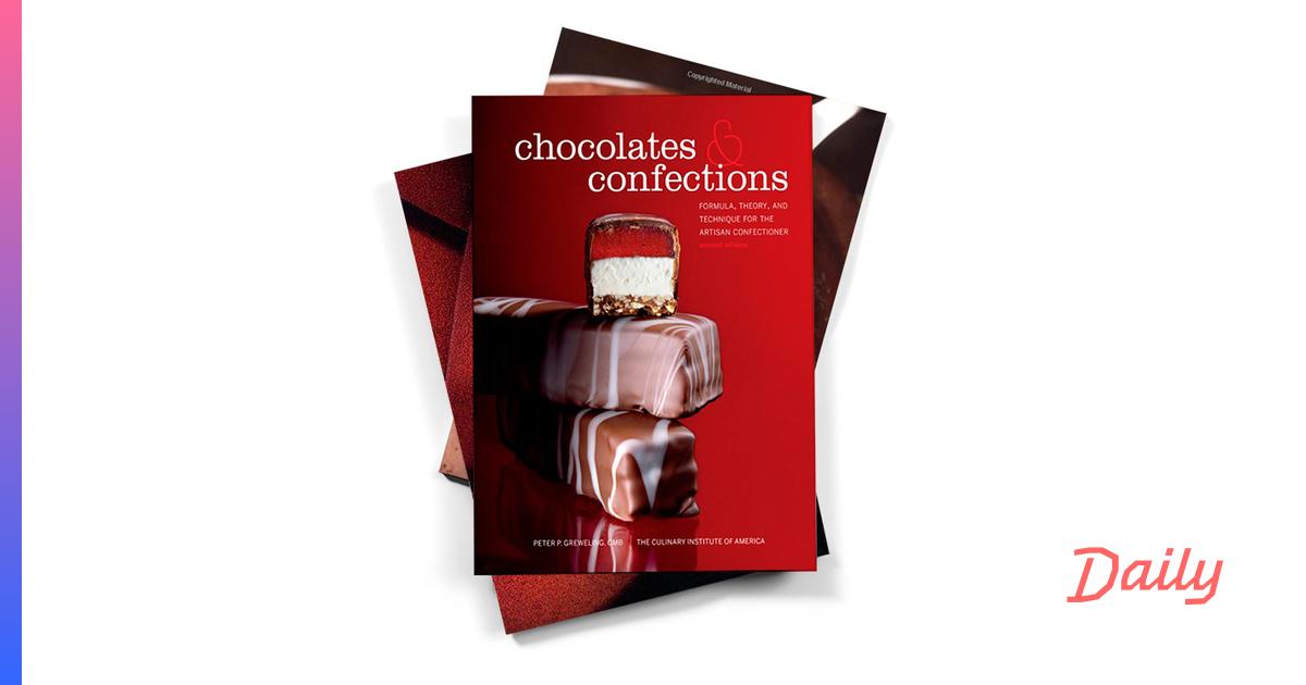 6 книг, которые научат вас делать из шоколада все