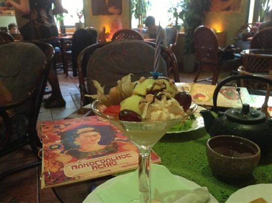 Ресторан Фрида - фотография 13 - Подарок от кафе на прошедший день рождения^.^