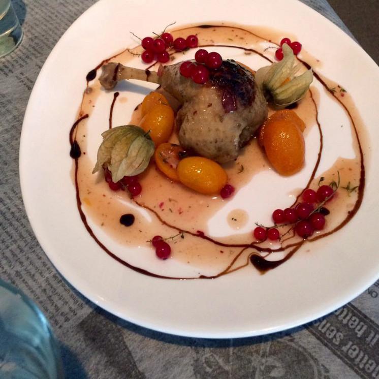 Ресторан Котлета - фотография 8 - Утиная ножка Конфи