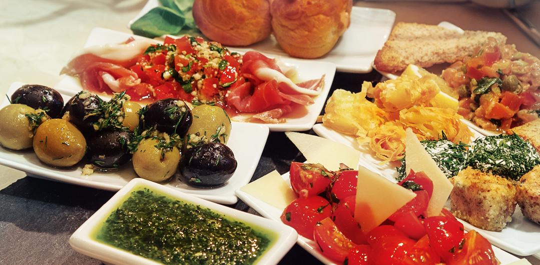 Ресторан Geo Café - фотография 9 - Сет - Средиземноморский Ужин