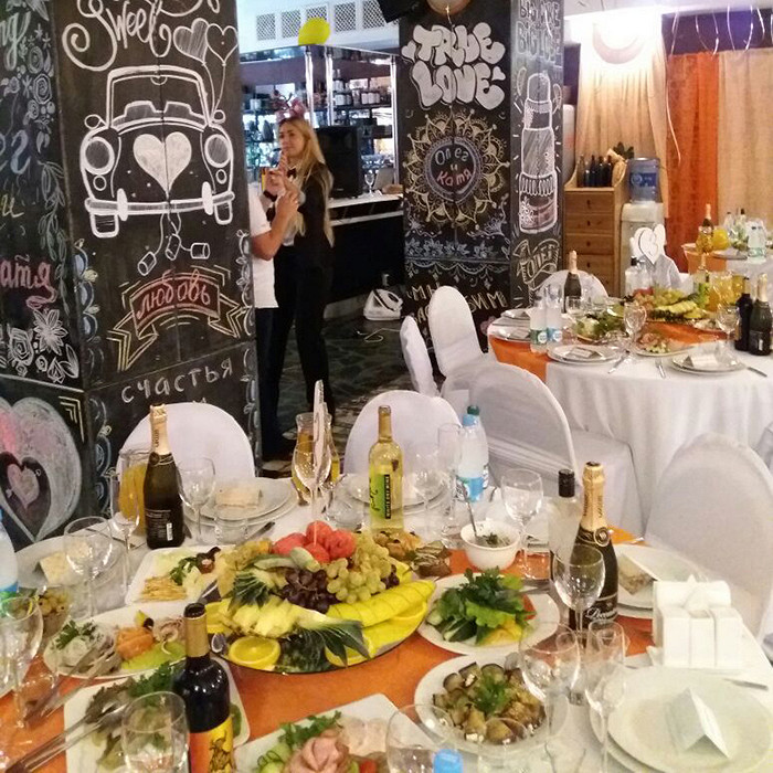 Ресторан Red Star - фотография 1 - Банкет