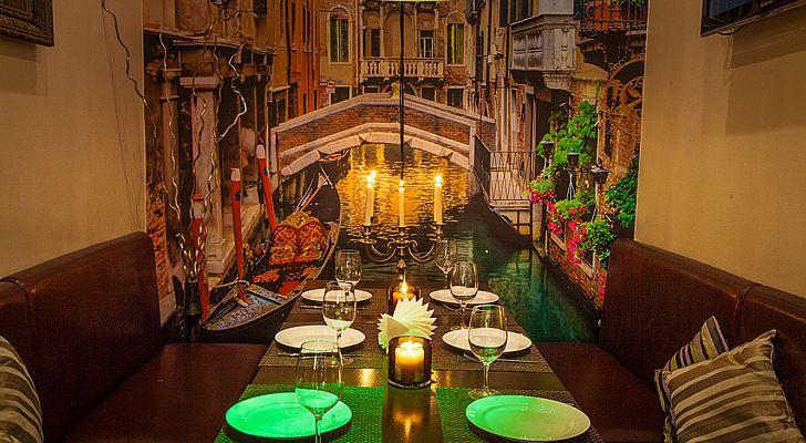 Ресторан Акварель - фотография 4 - VIP комната