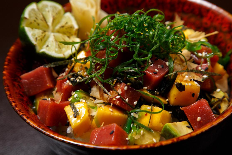 Ресторан Kodo - фотография 2 - Poke Bowl