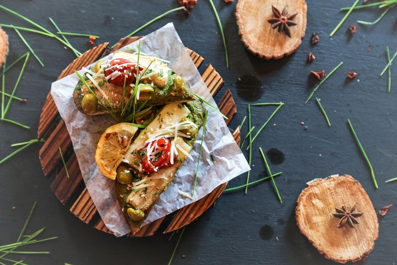 Ресторан Isoulcafé - фотография 2 - Горячие блюда вегетарианской кухни.