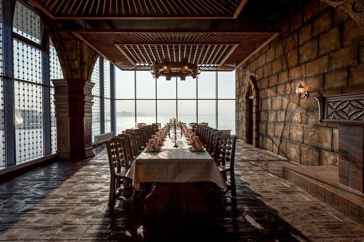 Ресторан Папаша Клаусс - фотография 4 - Банкетный зал