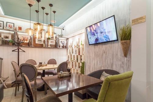 Ресторан Пироги, вино и гусь - фотография 10 - интерьеры