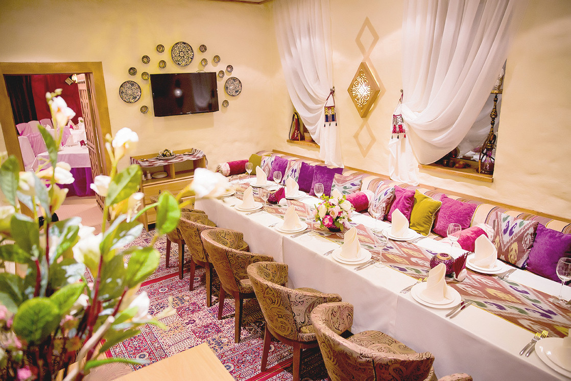 Ресторан Ляби-хауз - фотография 7 - Отдельный VIP зал