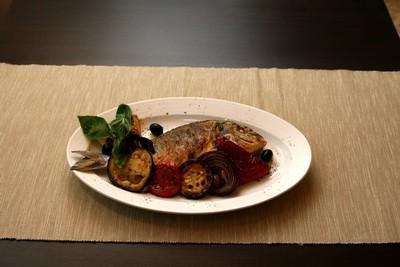 Ресторан Персона - фотография 11 - Дорада гриль
