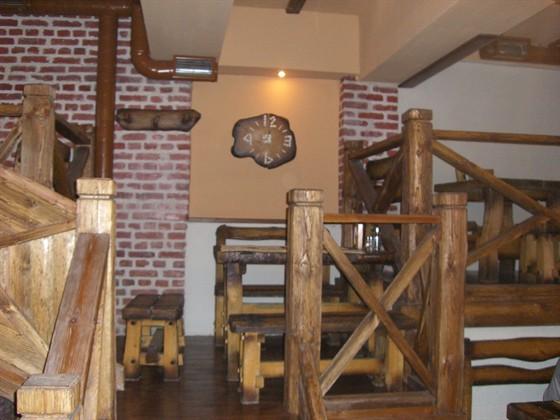Ресторан Дикий кабан - фотография 3 - 2-й этаж
