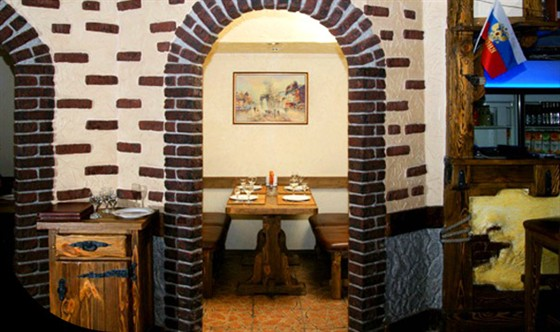 Ресторан Золотое время - фотография 7 - Комнатки в банкетном зале Гасконъ