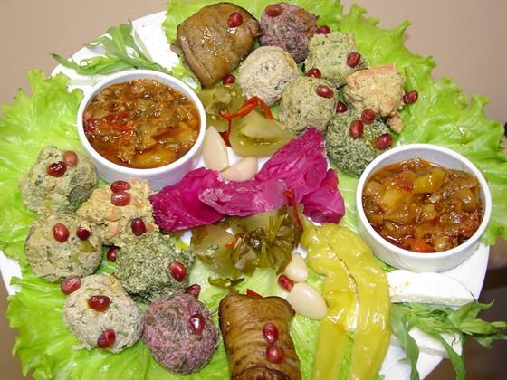 """Ресторан Сулико на Патриарших - фотография 11 - Блюдо на двоих """"Грузинский Fusion"""""""