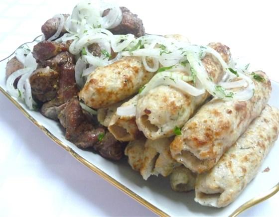 Ресторан Ковчег - фотография 7 - Люля из курицы на мангале